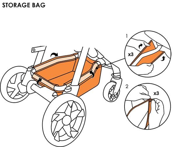 Moxi storage bag